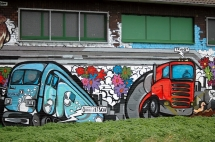 5-19 Graffiti-Kunst am Bau